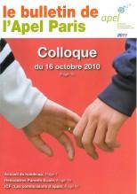 Couverture Bulletin 2011