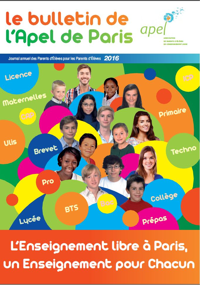 Couverture du Bulletin 2016